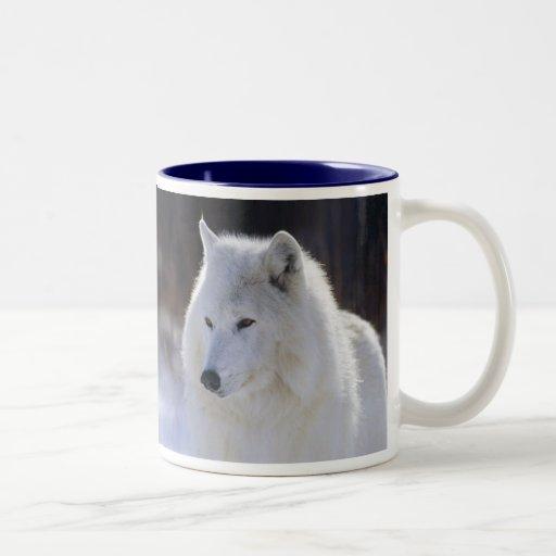 Taza ártica del lobo