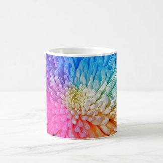 Taza artificial del color del crisantemo