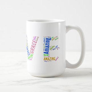 Taza asombrosa GTK multicolor del amor de la toler