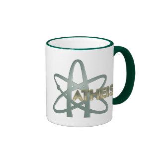 Taza atea (del símbolo ateo americano oficial)