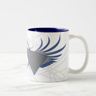 Taza atómica del Rev café