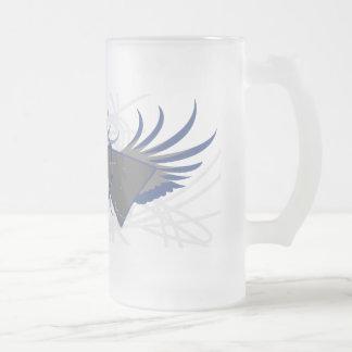 Taza atómica del Rev vidrio esmerilado