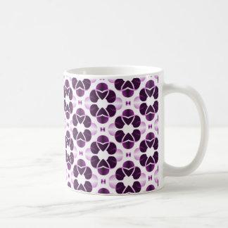 Taza atractiva brillante púrpura