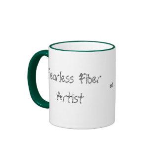 Taza audaz del artista de la fibra