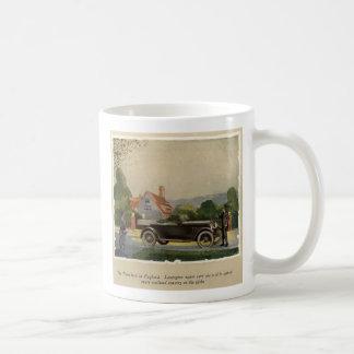 Taza auto 1920 del anuncio de Lexington Thorobred