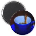 Taza azul 2 iman