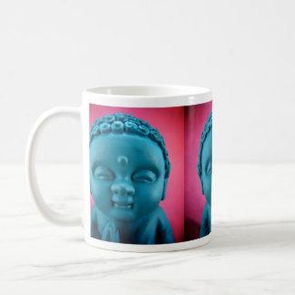 Taza azul de Buda