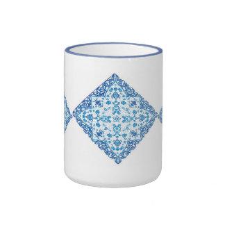 taza azul de Delft