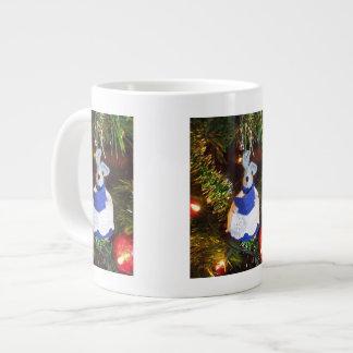 Taza azul de la especialidad del ratón del coro taza grande