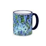 Taza azul del Agapanthus