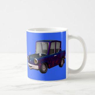 Taza azul del coche de Toon