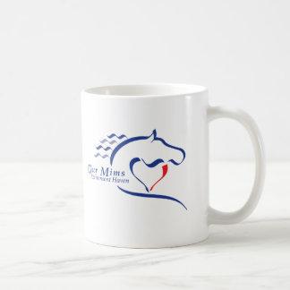 ¡Taza azul del logotipo del asilo - Taza De Café
