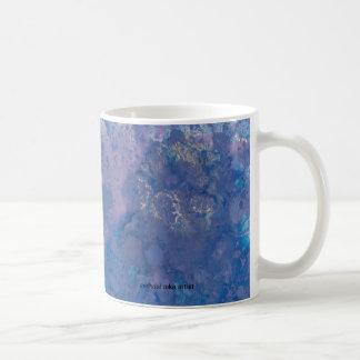 taza azul del salpicón