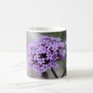 Taza azul fresca de la flor II