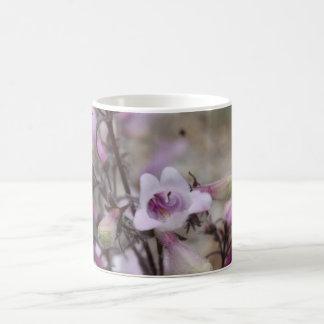 Taza azul fresca de la flor III