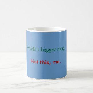 Taza - azul grande de la taza