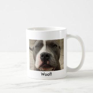 Taza azul irlandesa del perro de Terrier