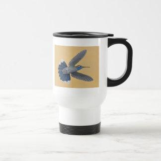 taza Azul-throated del viaje del colibrí