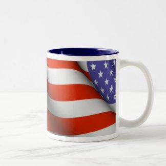 Taza - bandera americana