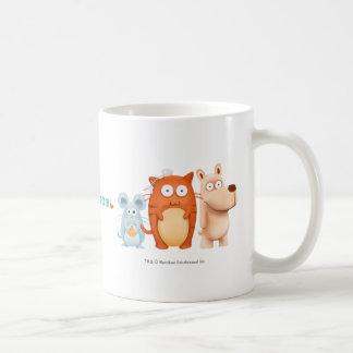 Taza: BeanyTeam™ - gato y ratón y perro Taza Clásica