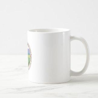 Taza blanca básica del sello de Whitetop