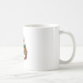 Taza blanca clásica de Papá Noel