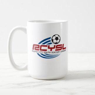 Taza blanca clásica de RCYSL