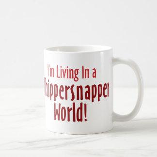 Taza blanca clásica del Whippersnapper