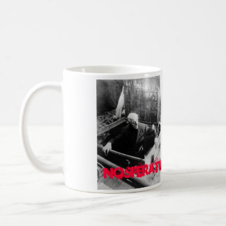 Taza blanca de CHFU Nosferatu dos