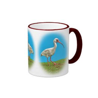 Taza blanca de Ibis