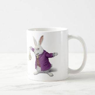 Taza blanca del conejo