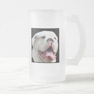 Taza blanca del dogo