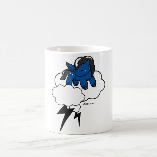 Taza blanca Dolce del potro el | de la tormenta y