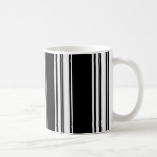 Taza blanco y negro de los estípites