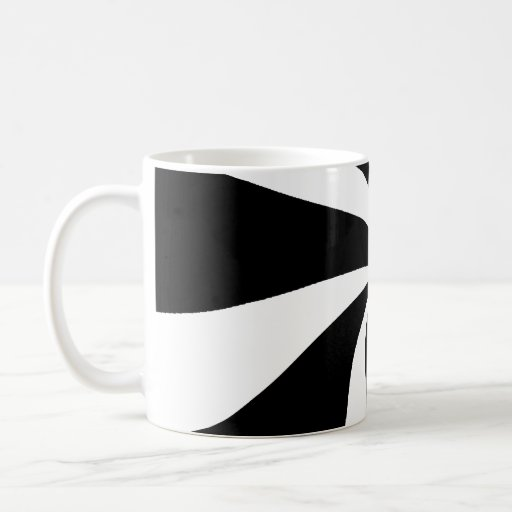 Taza blanco y negro maravillosa