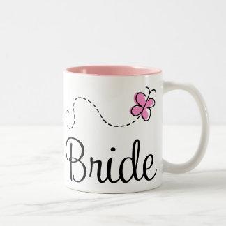 Taza bonita de la novia del boda