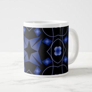 Taza brillante del jumbo del arte del taza grande
