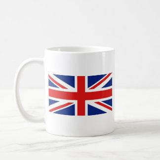 Taza BRITÁNICA del mapa del ~ de la bandera
