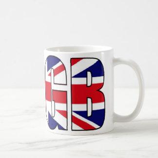 Taza BRITÁNICA del recuerdo de la bandera