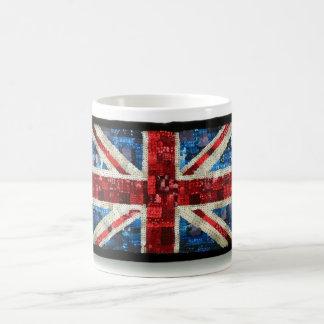Taza británica inglesa BRITÁNICA de la bandera de