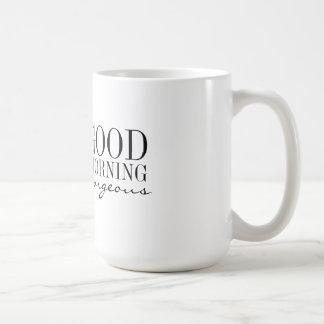 Taza - buena mañana magnífica