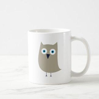 Taza Búho Classic White Coffee Mug