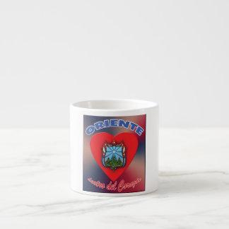 Taza Café Cubano Expreso - Corazón de Oriente 2 Espresso Cup
