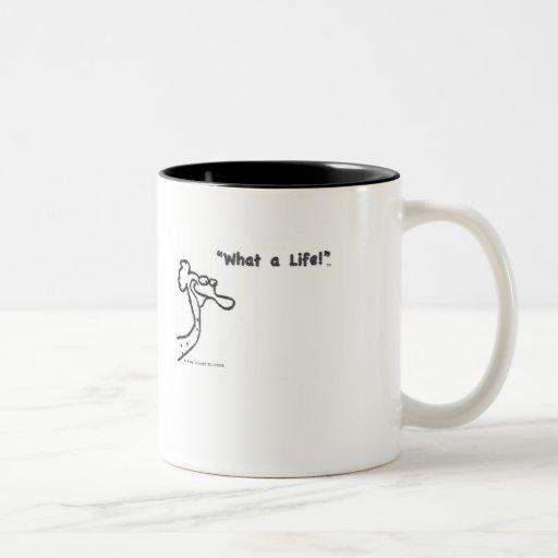 taza, café, una qué vida, Waldo, BirdHead