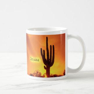 Taza caliente abrasadora del Saguaro