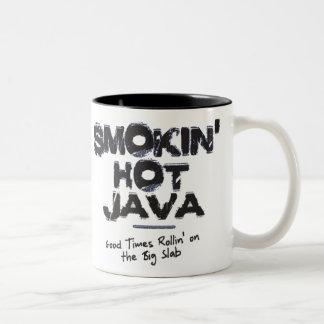 Taza caliente de Smokin Java