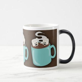 Taza caliente del cacao