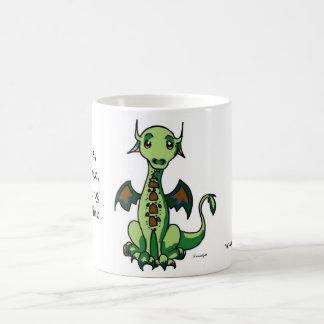 Taza calmante del dragón