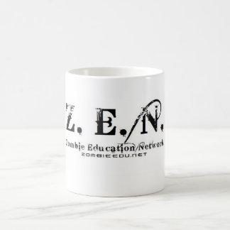 taza cambiante del color del logotipo del zen