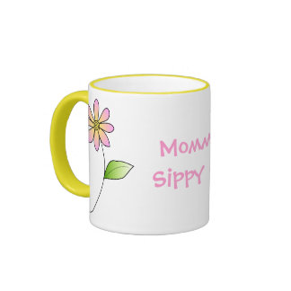 Taza caprichosa de la mamá